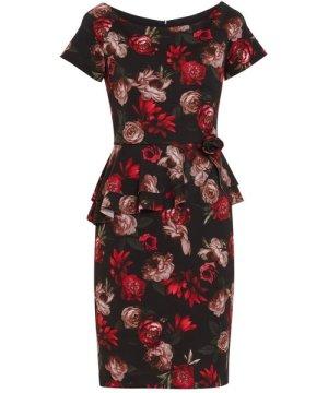 Gina Bacconi Glorielle Floral Scuba Dress