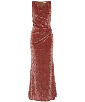 Gina Bacconi Goda Velvet Maxi Dress