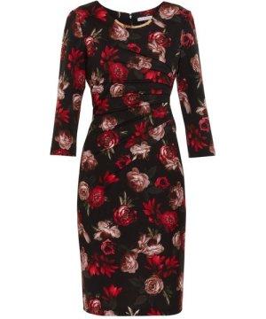 Gina Bacconi Franya Floral Scuba Dress