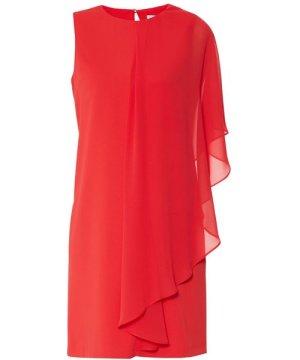 Gina Bacconi Aletta Moss Crepe And Chiffon Dress