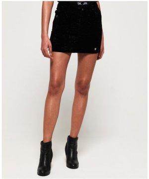 Superdry Leonie Velvet Skirt