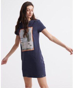 Superdry Desert Boyfriend T-Shirt Dress