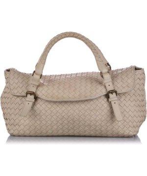 Bottega Veneta preowned Vintage Intrecciato Leather Handbag Brown