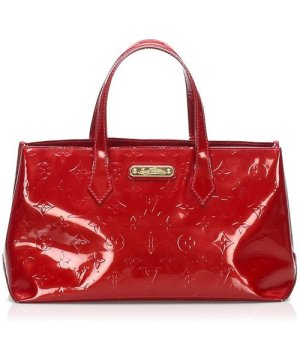 Louis Vuitton preowned Vintage Vernis Wilshire PM Red