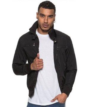 Enzo ETO | Men's Designer Black Biker Style Jacket