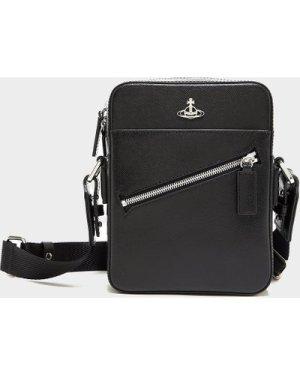 Men's Vivienne Westwood Kent Crossbody Bag Black, Black