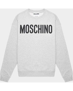 Men's Moschino Classic Sweatshirt Grey, Grey