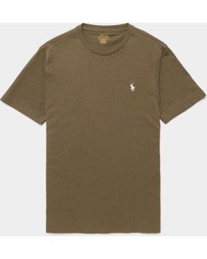 Men's Polo Ralph Lauren Basic Short Sleeve T-Shirt Green, Green
