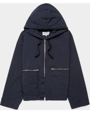 Men's Maison Margiela Packable Nylon Jacket Black, Black
