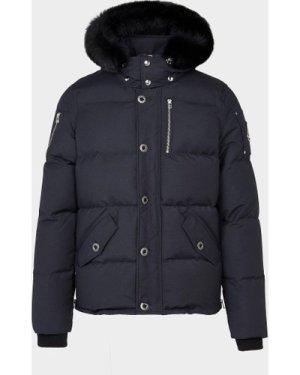 Men's Moose Knuckles 3Q Fur Jacket Black, Black