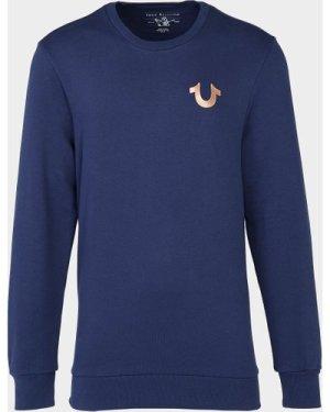 Men's True Religion Core Buddha Sweatshirt Blue, Blue/Blue