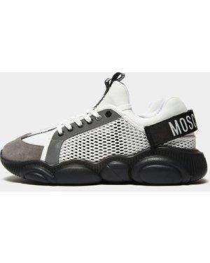 Men's Moschino Mesh Trainers White, White