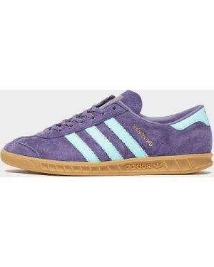 Men's adidas Originals Hamburg Trainers Multi, Purple/Blue