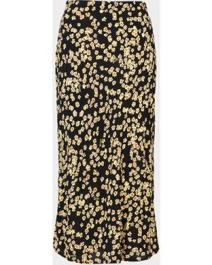 Women's Tommy Jeans Floral Print Skirt Black, Black