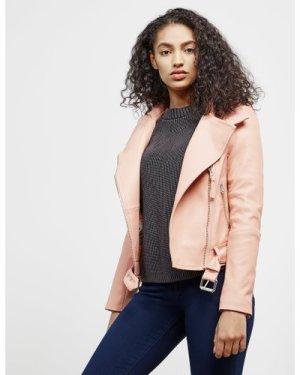 Women's Mackage Leather Jacket Pink, Peach