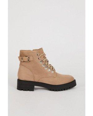 Womens Hiking Boot - cream, Cream