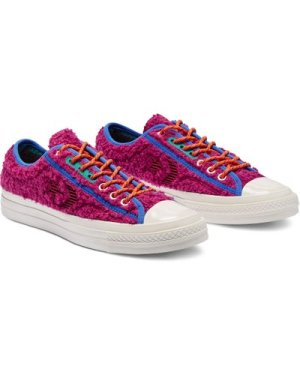 Unisex Retro Sherpa Star Player Low Top