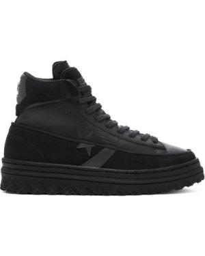 Unisex Black Ice Pro Leather X2 High Top