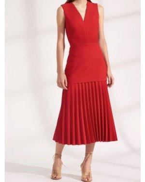 Dion Lee V-neck Dress (Size: 10)