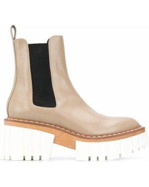 Stella McCartney platform Chelsea boots (Size: 36.5)