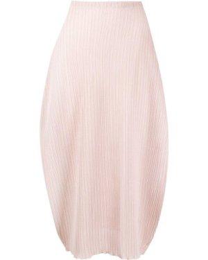 Jil Sander mid-length jersey skirt (Size: M)