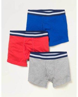 Jersey Boxers 3 Pack Multi Boys Boden, Multi
