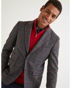 Middleham Tweed Blazer Grey Men Boden, Grey