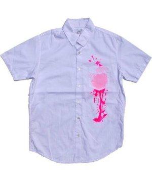 PEEL & LIFT Stain Shirt - White / Pink