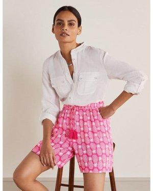 Bembridge Shorts Pink Women Boden, Pink