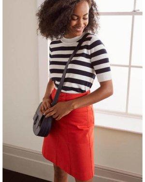 Abingdon Mini Skirt Red Women Boden, Red