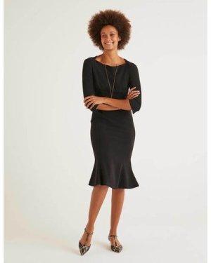 Violette Dress Black Women Boden, Black