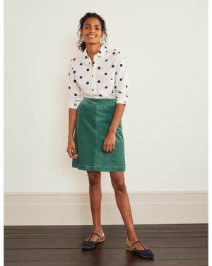 Beresford Mini Skirt Green Women Boden, Green