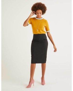 Kensington Pencil Skirt Black Women Boden, Black