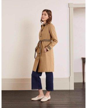 Mark Trench Coat Brown Women Boden, Camel