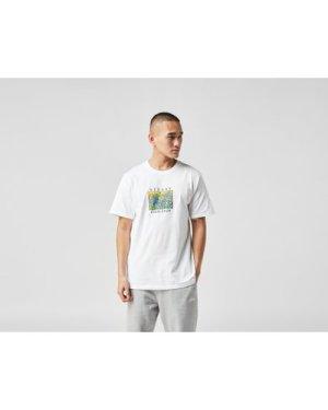 Stussy Irises T-Shirt, White/WHT