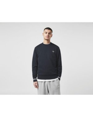 Fred Perry Twin Tipped Crew Sweatshirt, Blue