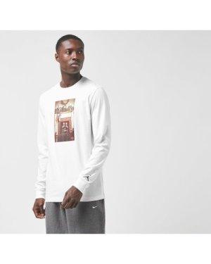 Jordan Long Sleeve Jumpman Chimney T-Shirt, White