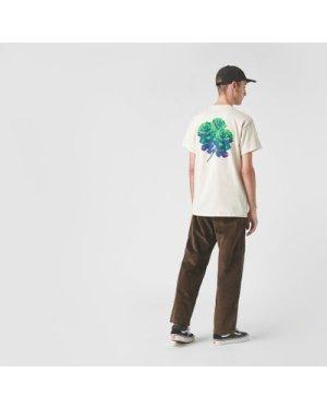 Huf Neu Roses T-Shirt, White/WHT
