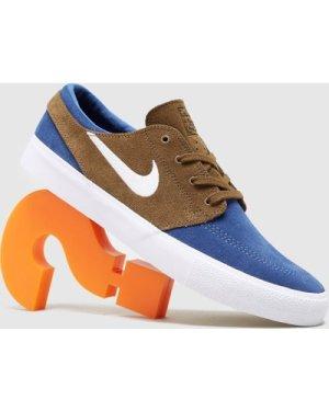 Nike SB Zoom Stefan Janoski RM, Navy/Brown