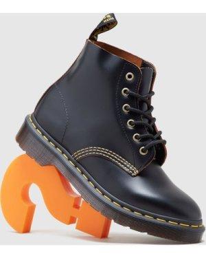 Dr. Martens 101 Archive Lace Up Leather Boots Women's, Black