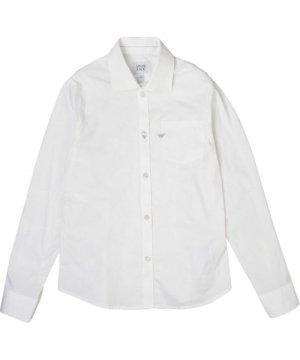 Armani Junior SHIRTS White Boy Cotton