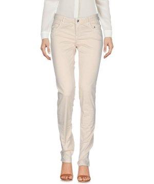 Siviglia Sand Cotton Straight Leg Trousers