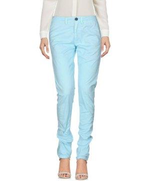 Siviglia Sky Blue Cotton Tapered Leg Chino Trousers