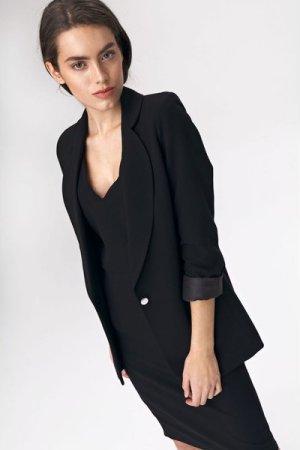 Nife Oversize jacket - black