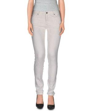 Plein Sud White Cotton Straight Leg Jeans