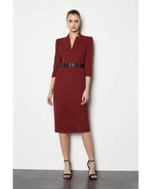 Karen Millen Forever Dress -, Orange