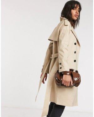 Fashion Union trench coat-Beige