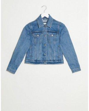 Abercrombie & Fitch class denim jacket in blue
