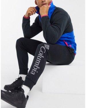 Columbia CSC Logo fleece jogger in black