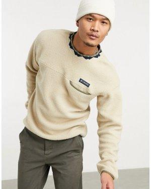 Columbia Wapitoo Fleece sweatshirt in beige